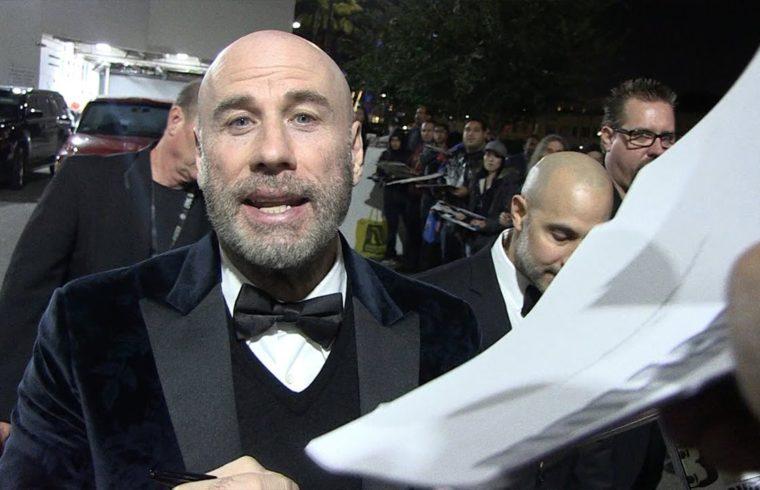 John Travolta Unveils New Bald Look for Living Legends of Aviation Awards 1
