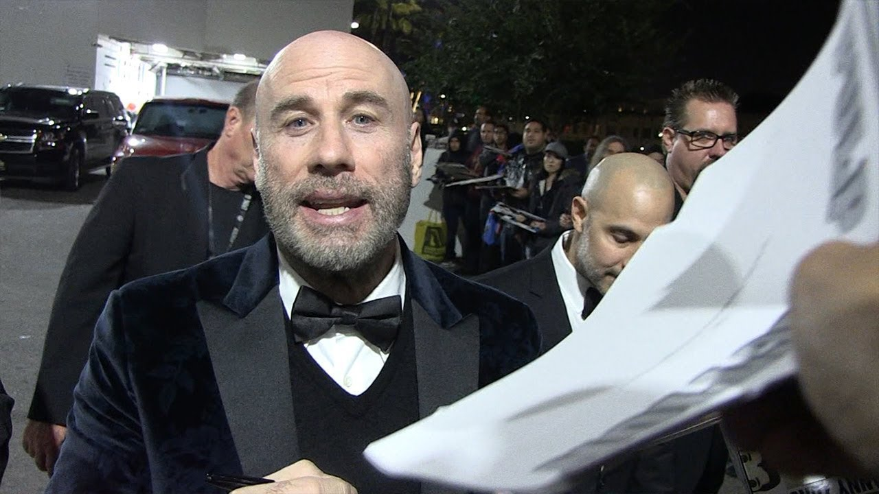 John Travolta Unveils New Bald Look for Living Legends of Aviation Awards 3