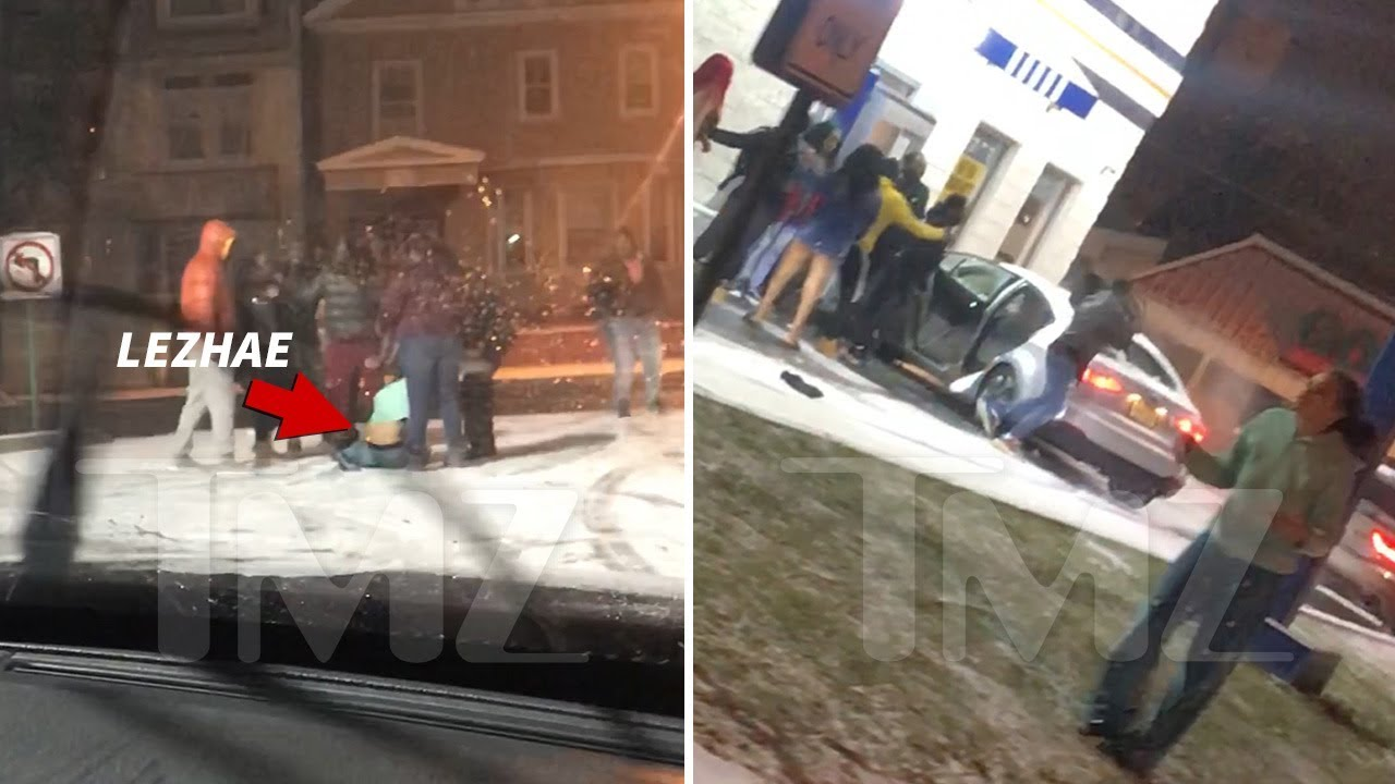 Fetty Wap's Baby Mama Lezhae Lowder Arrest in Massive Brawl Caught on Video 5