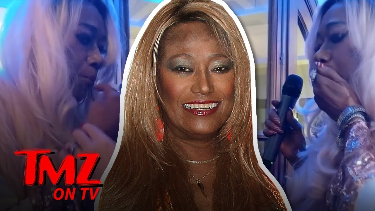 Pointer Sister Throws Up Onstage But Keeps Performing | TMZ TV 5
