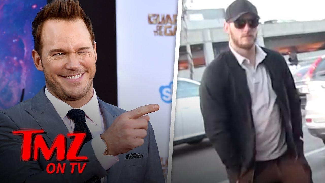 Chris Pratt Is Very Excited To Be Engaged | TMZ TV 4