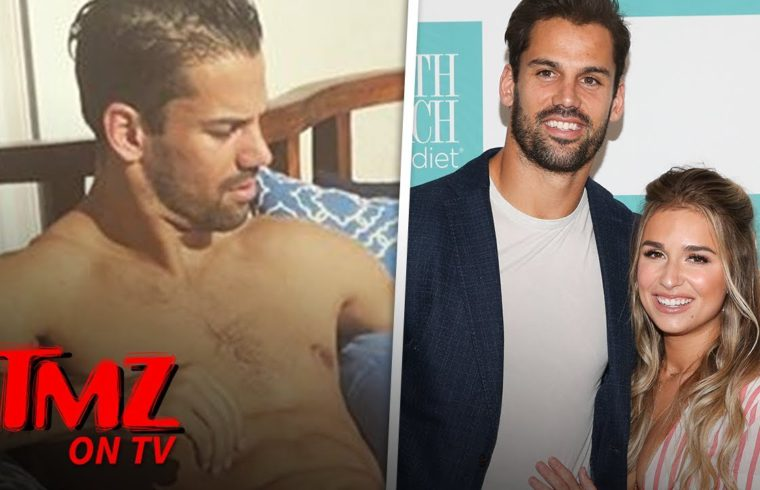 Jessie James Decker Shares Nude Photo Of Eric Decker Looking Great in Retirement   TMZ TV 1