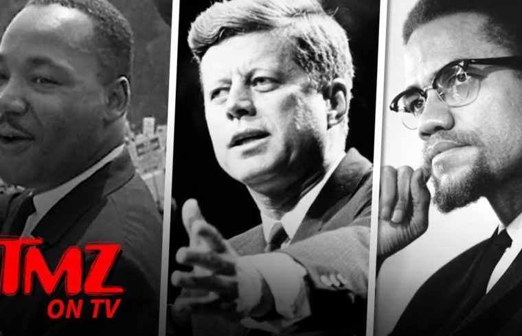 Is The Government Covering Up MLK, JFK, & Other Assassinations?!   TMZ TV 1