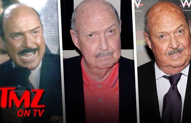 WWE Legend Mean Gene Okerlund Passes Away at 76 | TMZ TV 1