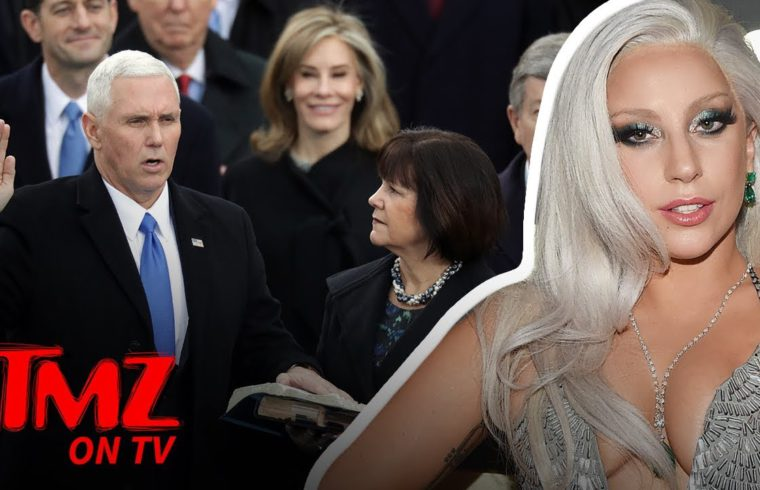 Lady Gaga Comes After Mike Pence & His Wife! | TMZ TV 1