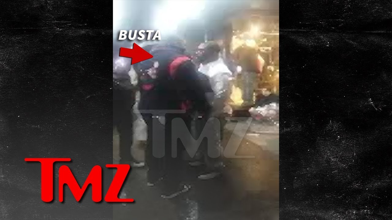 Busta Rhymes Gets in Street Scuffle in Times Square on New Year's | TMZ 5
