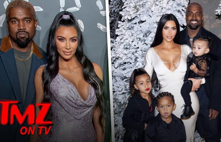 Kim Kardashian & Kanye West To Have Fourth Baby, Via Surrogate | TMZ TV 1