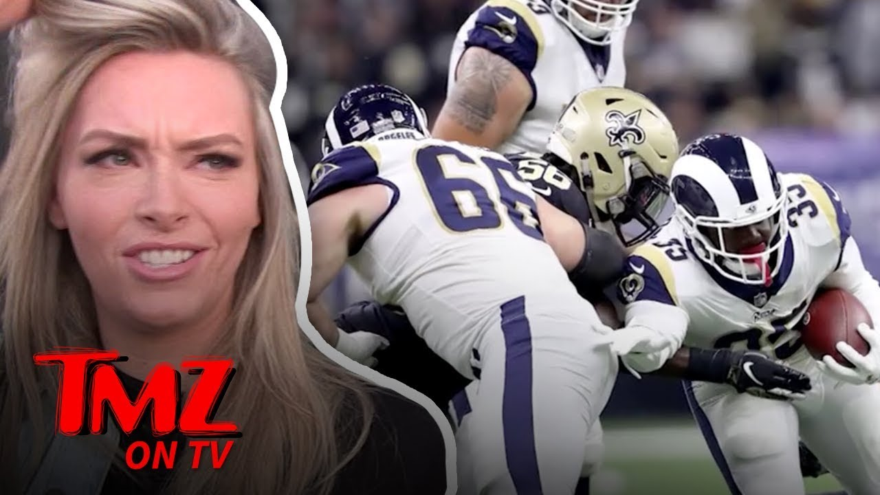 Gronk's Girlfriend Says Stop Hating On The Patriots! | TMZ TV 5