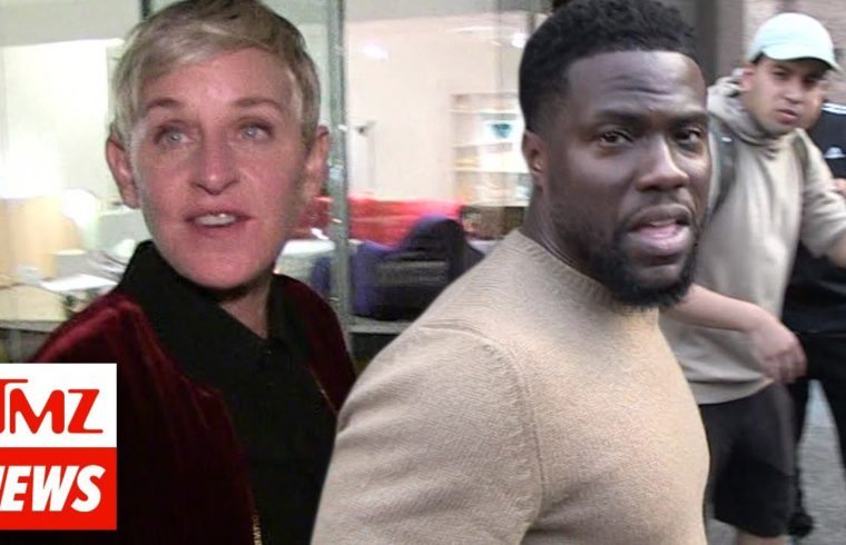 Ellen DeGeneres Getting Blasted for Calling Kevin Hart's Critics 'Haters' and 'Trolls' | TMZ 1