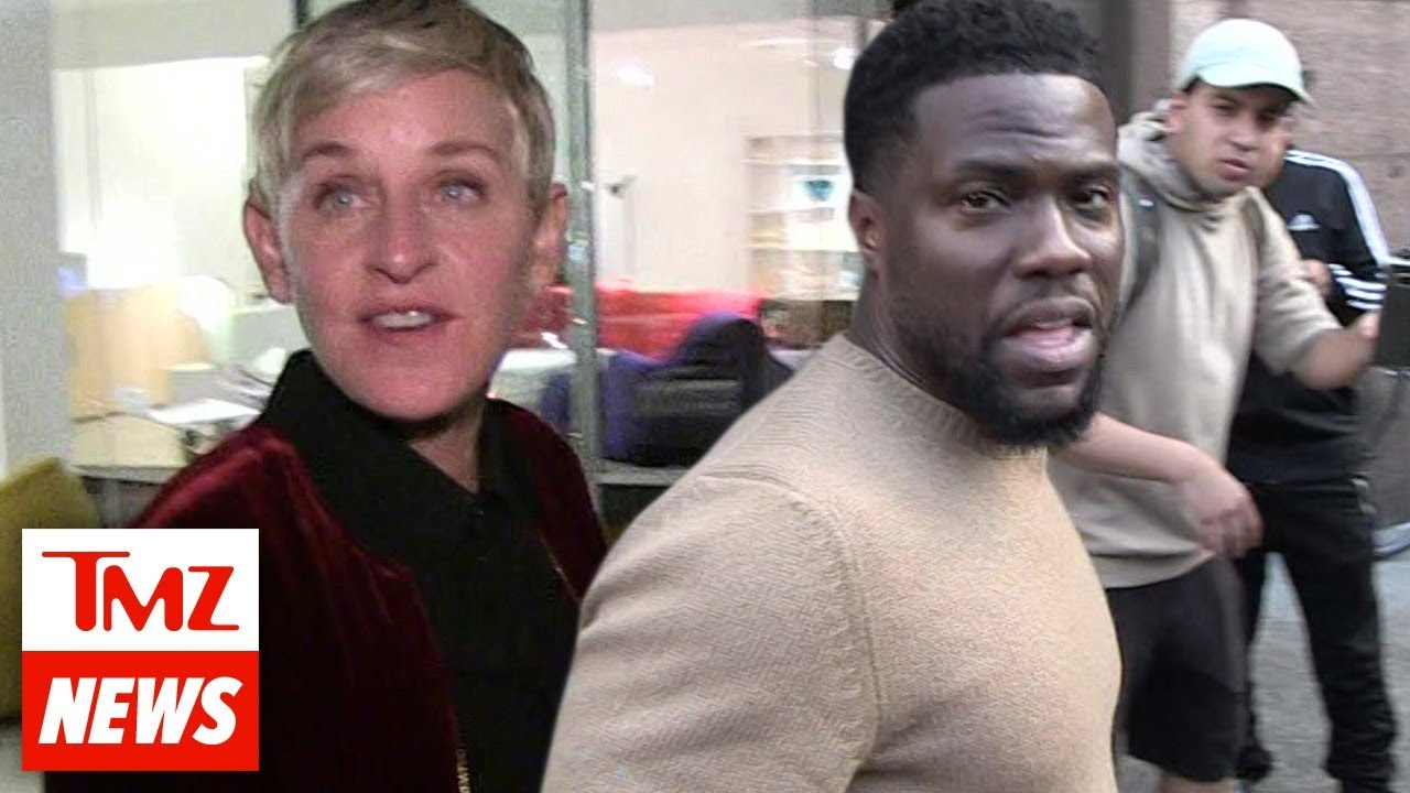 Ellen DeGeneres Getting Blasted for Calling Kevin Hart's Critics 'Haters' and 'Trolls' | TMZ 3