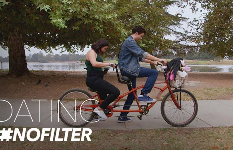 Tandem Bike Riding Date With Hand Puppets in Tow | Dating #NoFilter | E! 1