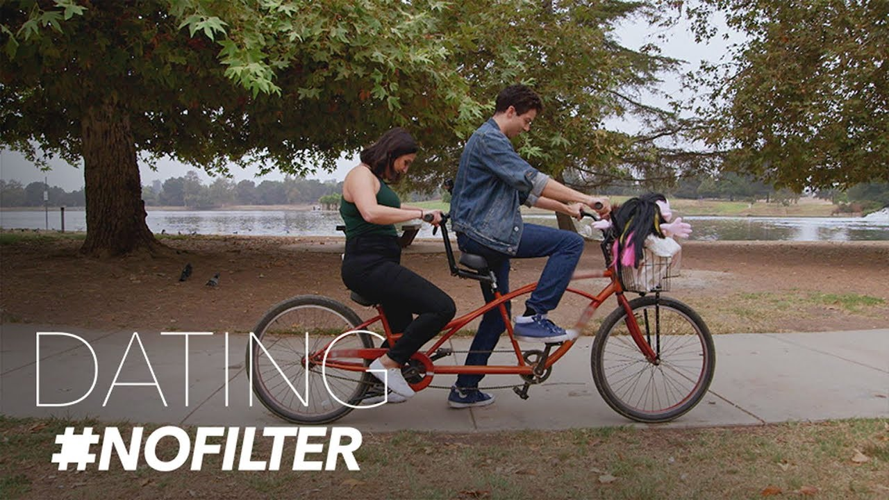 Tandem Bike Riding Date With Hand Puppets in Tow | Dating #NoFilter | E! 5