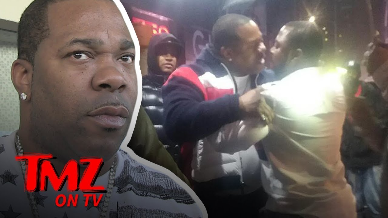 Busta Rhymes Involved In NYE Scuffle | TMZ TV 4