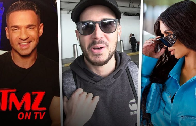 Jersey Shore's Vinny Asks Kim K To Help Get The Situation Out Of Jail! | TMZ TV 1