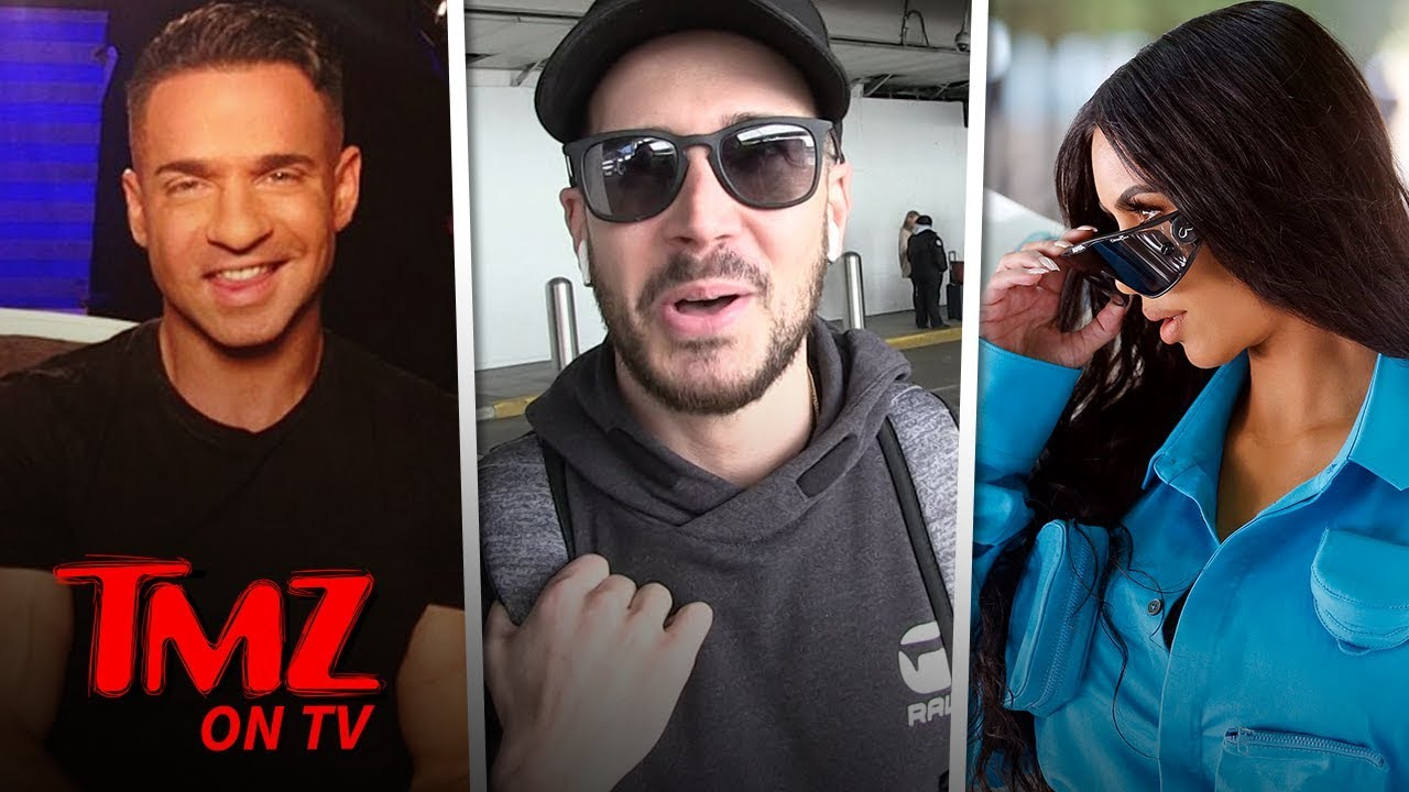 Jersey Shore's Vinny Asks Kim K To Help Get The Situation Out Of Jail! | TMZ TV 5