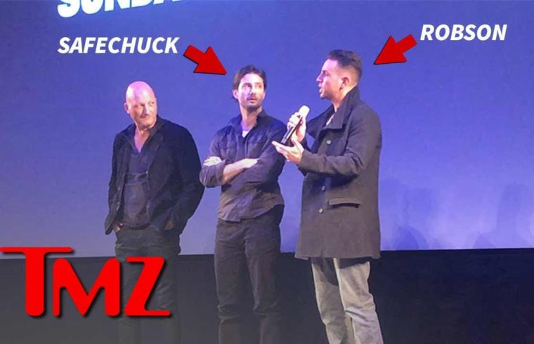 Wade Robson and James Safechuck Arrive at 'Leaving Neverland' Premiere | TMZ 1