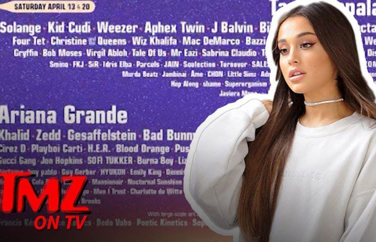 Ariana Grande Headlining Coachella Is A Nod To Female Empowerment | TMZ TV 1