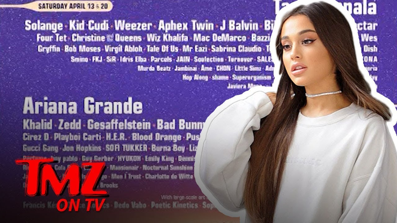 Ariana Grande Headlining Coachella Is A Nod To Female Empowerment | TMZ TV 5