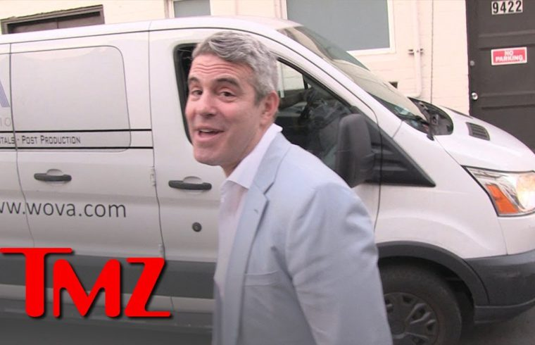 Andy Cohen Leaving His Wild Baby Shower | TMZ 1