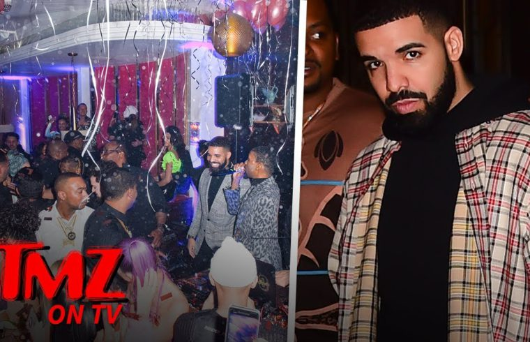 Drake's NYE Party Is Full Of His Previous Enemies & Friends | TMZ TV 1