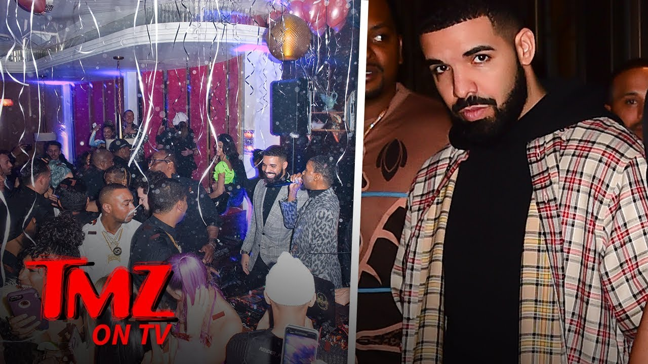 Drake's NYE Party Is Full Of His Previous Enemies & Friends | TMZ TV 5