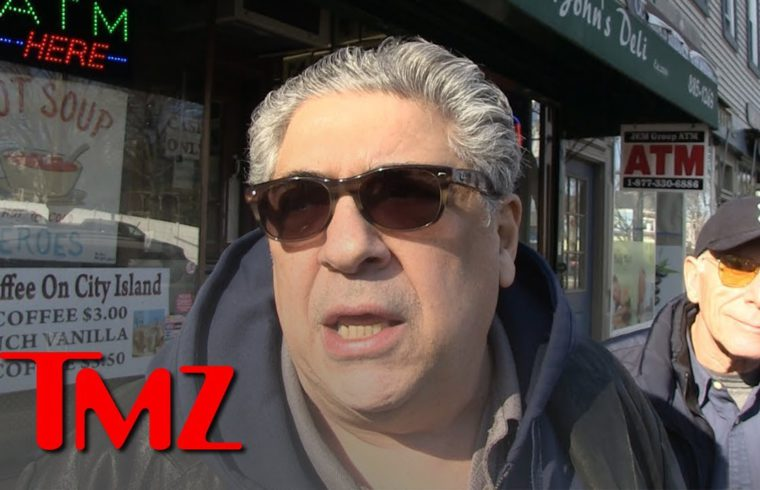 'Sopranos' Vincent Pastore Praises James Gandolfini's Son Playing Young Tony | TMZ 1