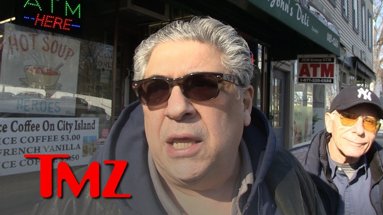 'Sopranos' Vincent Pastore Praises James Gandolfini's Son Playing Young Tony   TMZ 3