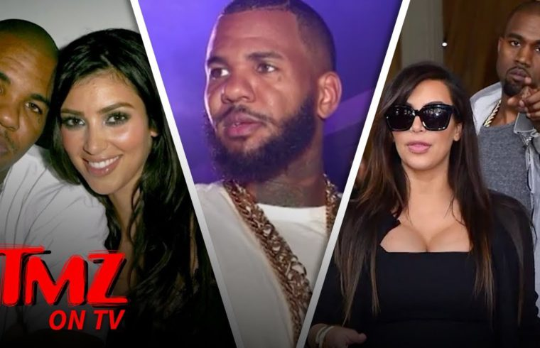 The Game Raps About Sleeping With Kim K & Kylie Jenner! | TMZ TV 1