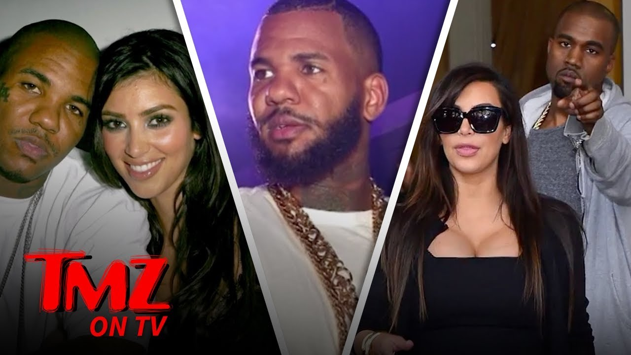 The Game Raps About Sleeping With Kim K & Kylie Jenner! | TMZ TV 3