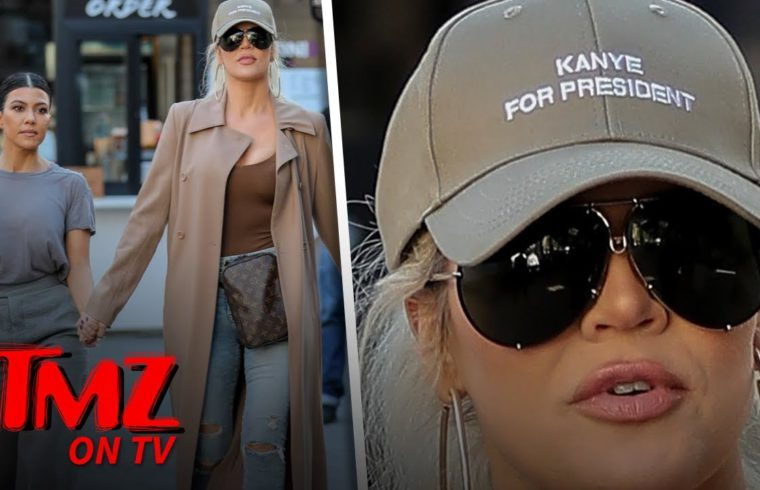 Khloe Campaigns For Kanye For President! | TMZ TV 1