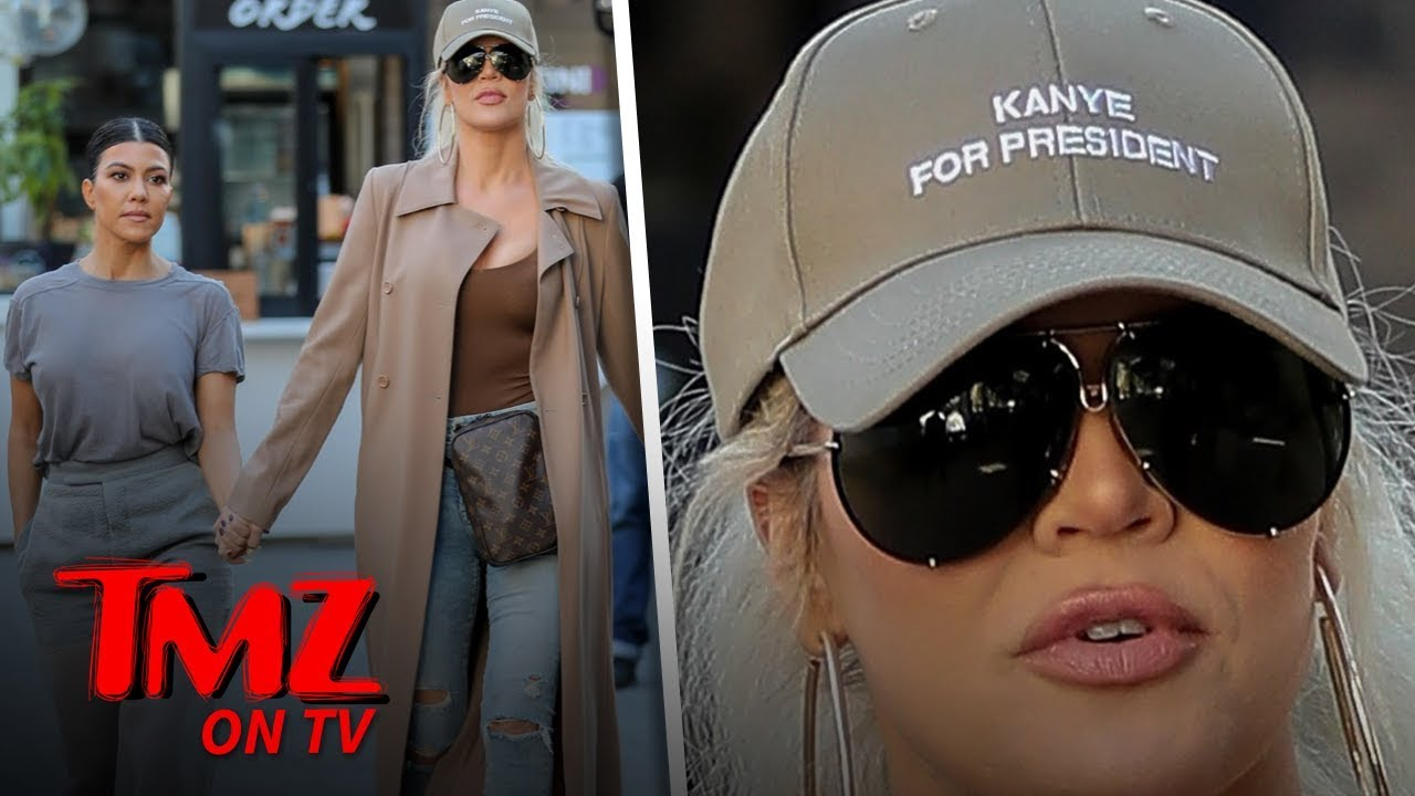 Khloe Campaigns For Kanye For President! | TMZ TV 5