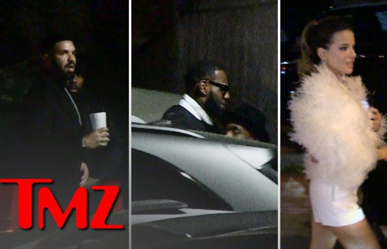 Drake Brings Out All the Stars for His New Year's Eve Champagne Party | TMZ 1