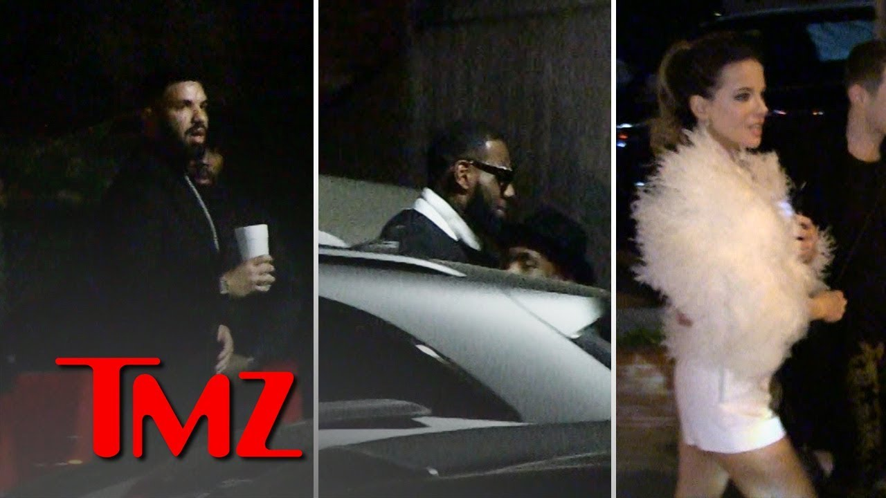 Drake Brings Out All the Stars for His New Year's Eve Champagne Party | TMZ 3