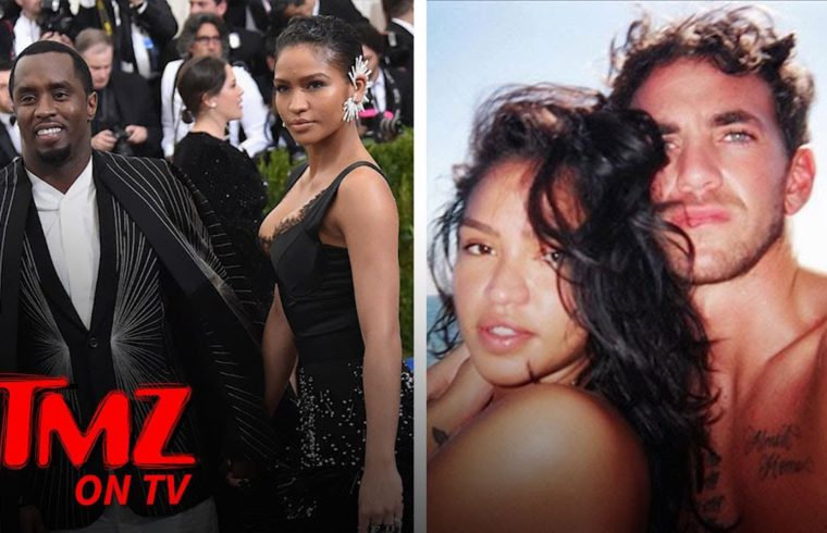 Diddy Sources Say Cassie Betrayed Him By Sleeping with Trainer! | TMZ TV 1