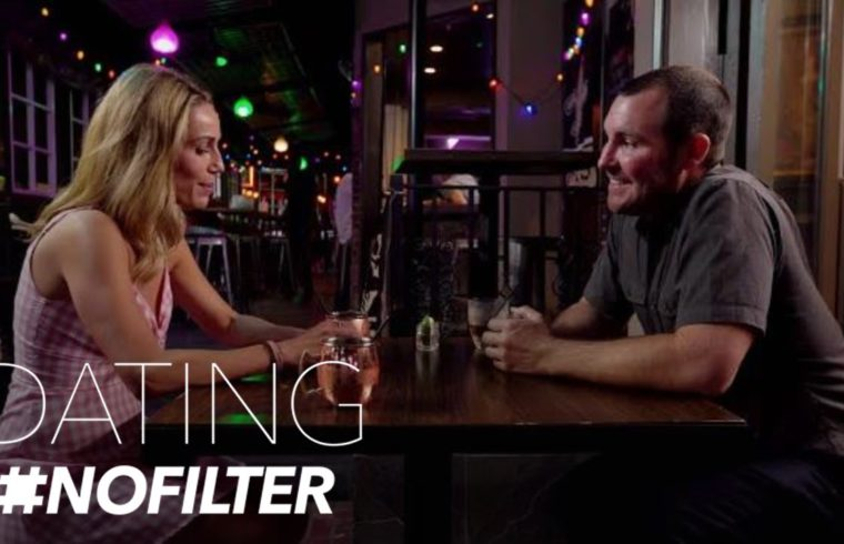 Adam Brings Up a Sensitive Subject--Out of Fear? | Dating #NoFilter | E! 1