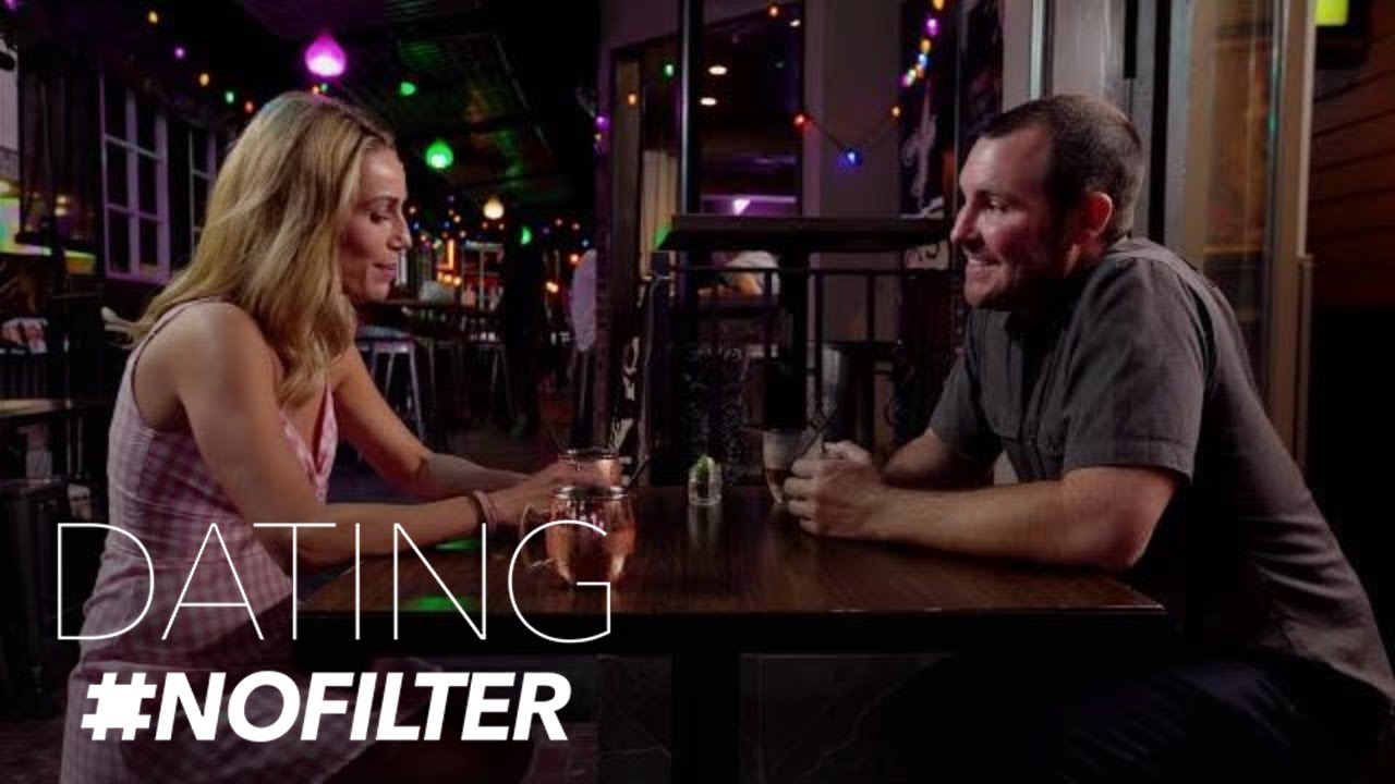 Adam Brings Up a Sensitive Subject--Out of Fear? | Dating #NoFilter | E! 3