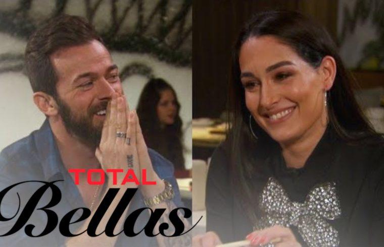Nikki Bella Flirts With Artem Chigvintsev on Sushi Date | Total Bellas | E! 1