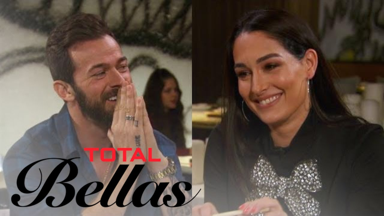 Nikki Bella Flirts With Artem Chigvintsev on Sushi Date | Total Bellas | E! 5