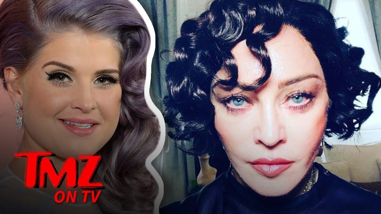 Kelly Osbourne Defends Madonna's New Look | TMZ TV 4