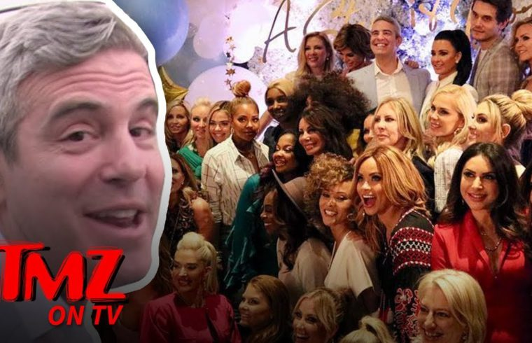 Andy Cohen Hosted A WILD Baby Shower!   TMZ TV 1