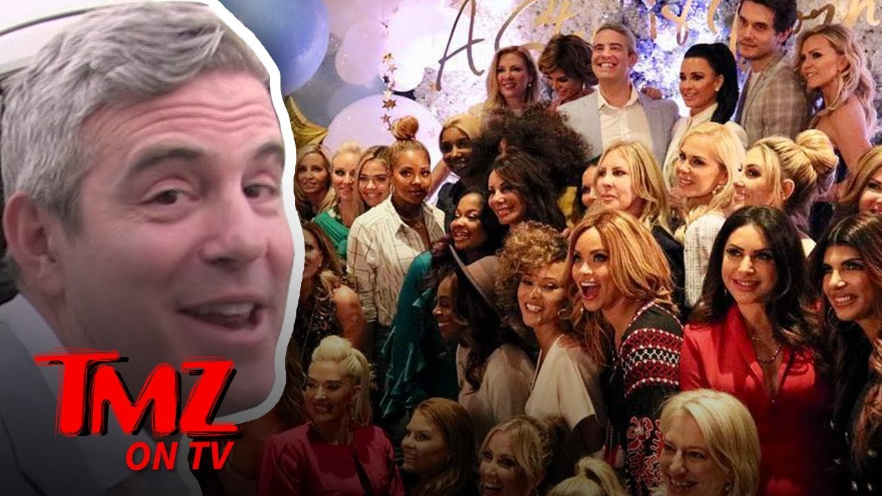 Andy Cohen Hosted A WILD Baby Shower! | TMZ TV 5