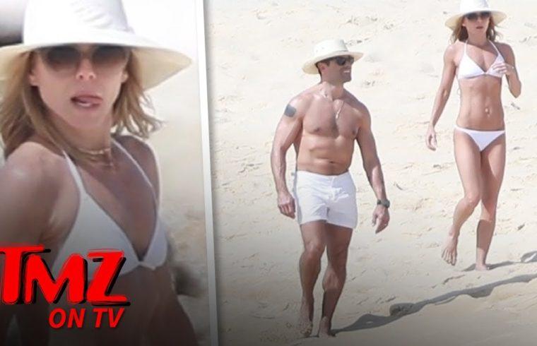 Kelly Ripa and Mark Consuelos Show Off Hard Bods in Mexico | TMZ TV 1