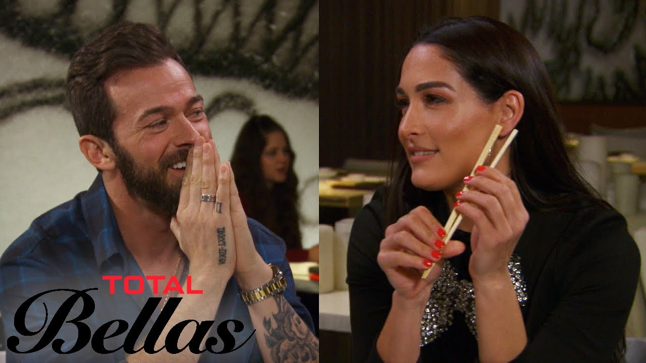 Nikki Wants to Train With Artem Chigvintsev...But Brie Disagrees | Total Bellas | E! 3