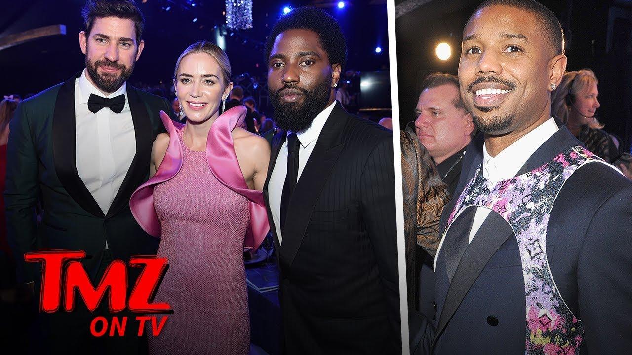 Interesting Male Fashion At The SAG Awards | TMZ TV 5