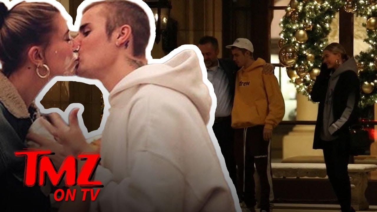 Justin Bieber Serenades Hailey and Random Guy with 'Sexual Healing' | TMZ TV 1