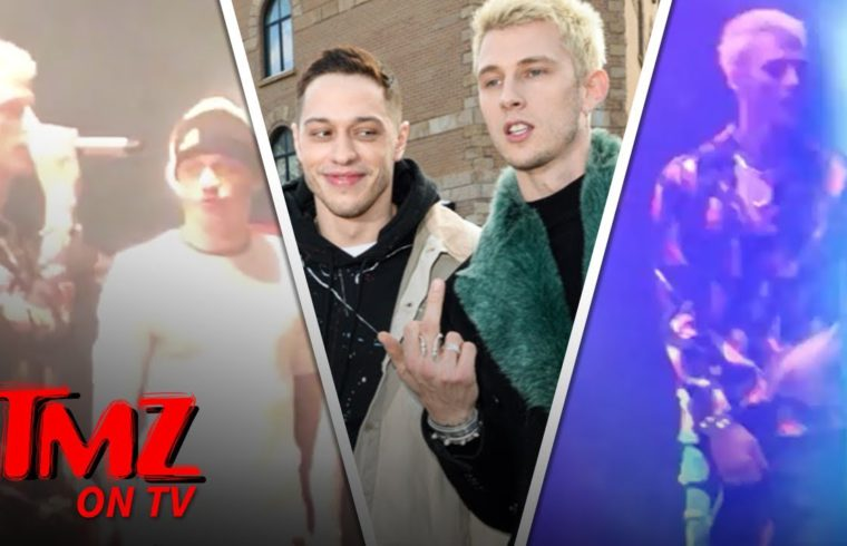 Pete Davidson & Machine Gun Kelly Are Movie Making Buddies | TMZ TV 1