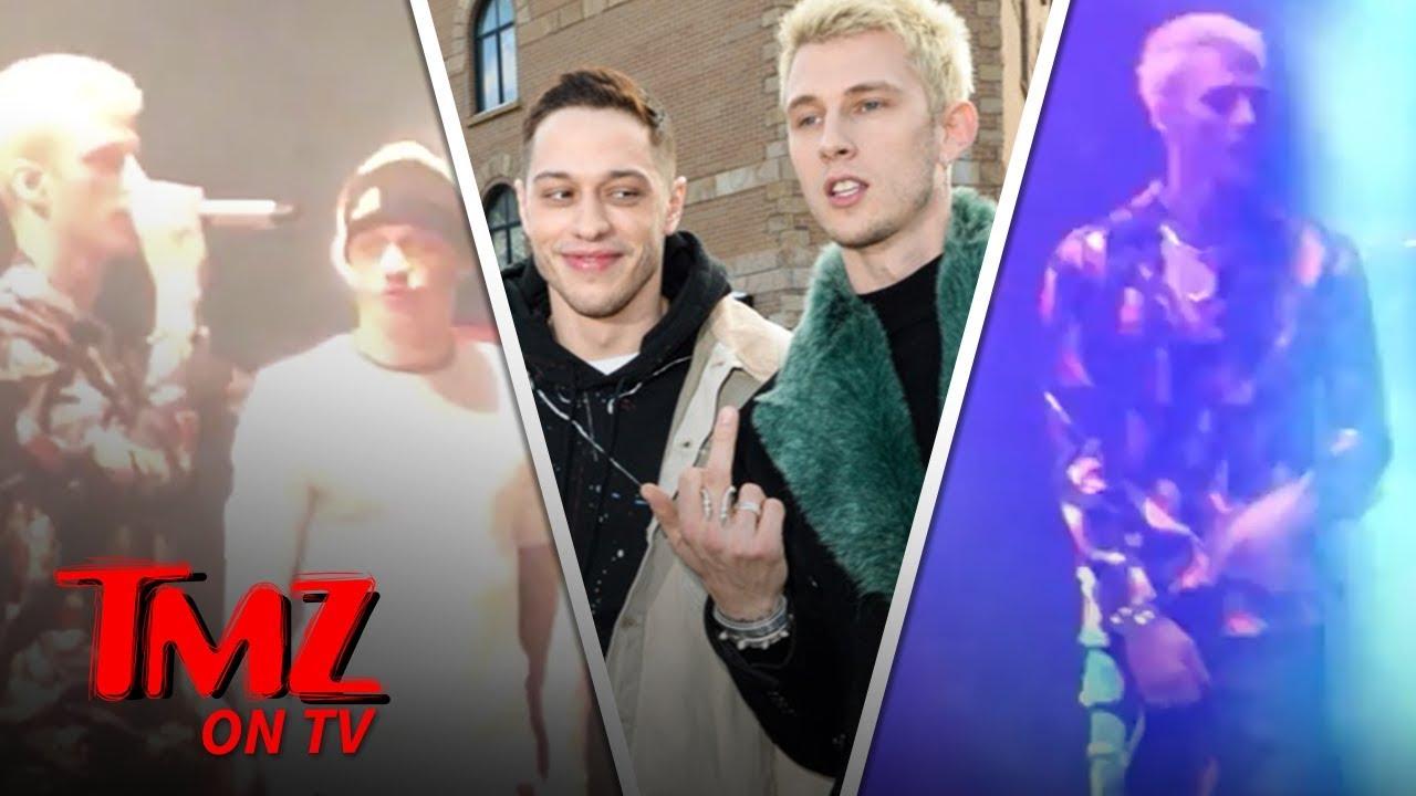 Pete Davidson & Machine Gun Kelly Are Movie Making Buddies | TMZ TV 5
