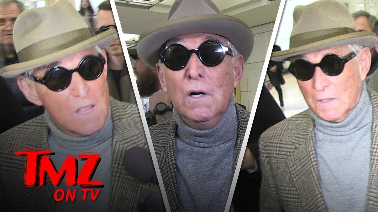 Former Trump Advisor Roger Stone Talks Prison Fashion! | TMZ TV 5