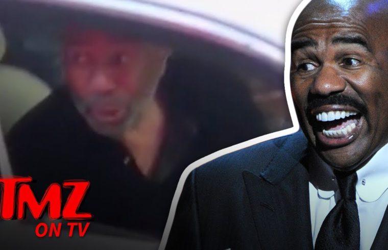 TMZ Tour Catches Steve Harvey In The Streets | TMZ TV 1