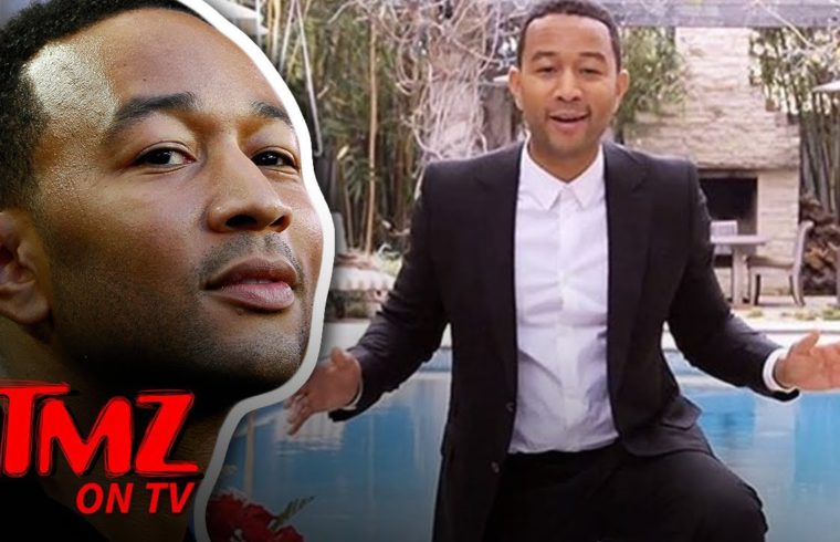 John Legend Is Finally Learning How To Swim! | TMZ TV 1